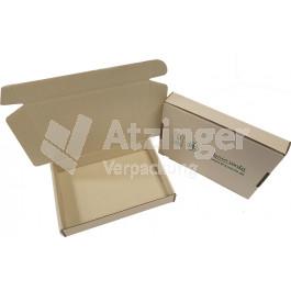 Klappdeckelschachtel aus Graspapier