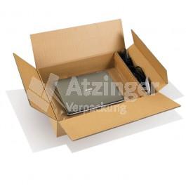 Laptop- und Notebookverpackung, mit Zubehörfach
